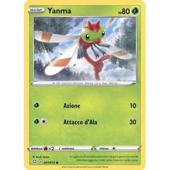 01 / 72 Yanma Comune normale (Near Mint) - Destino Splendente (ITA 2021)