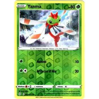 01 / 72 Yanma Comune Holo Reverse foil (Near Mint/Mint) - Destino Splendente (ITA 2021)