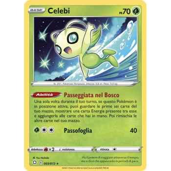 03 / 72 Celebi Rara normale (Near Mint) - Destino Splendente (ITA 2021)