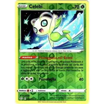 03 / 72 Celebi Rara Holo Reverse foil (Near Mint) - Destino Splendente (ITA 2021)