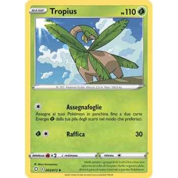 05 / 72 Tropius Non Comune normale (Near Mint/Mint) - Destino Splendente (ITA 2021)