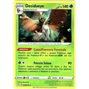 08 / 72 Decidueye Rara Holo (Near Mint/Mint) - Destino Splendente (ITA 2021)