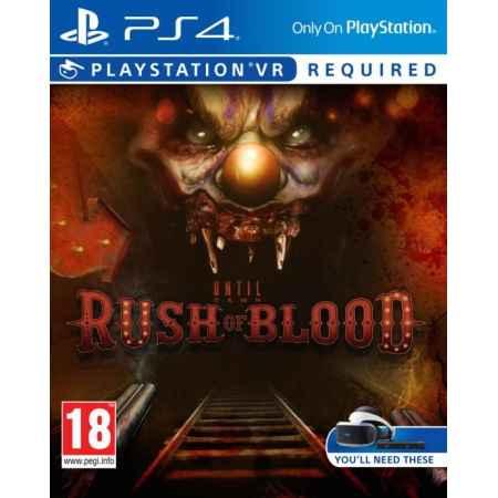 Until Dawn: Rush Of Blood- PS4 [Versione Italiana]