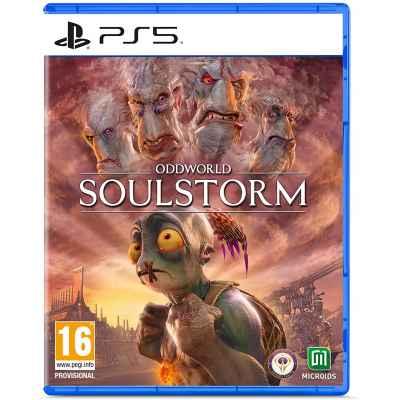 OddWorld SoulStorm - Day One Edition - Prevendita PS5 [Versione Italiana]