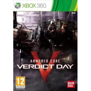 Armored Core: Verdict day - Xbox 360 [Versione Italiana]