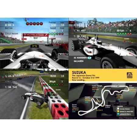 F1 World Grand Prix II (2) - Dreamcast [Versione Giapponese]