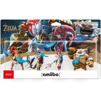 Nintendo Switch: Amiibo The Legend of Zelda: Breath of the Wild 4 Campioni