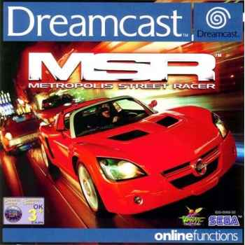 Metropolis Street Racer - Dreamcast [Versione EU]
