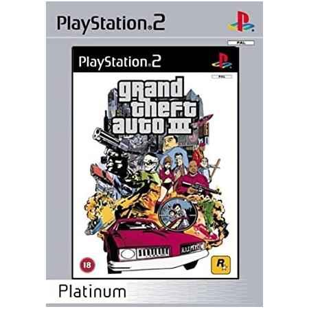 Gran Theft Auto III (Platinum) – PS2 [Versione Italiana]