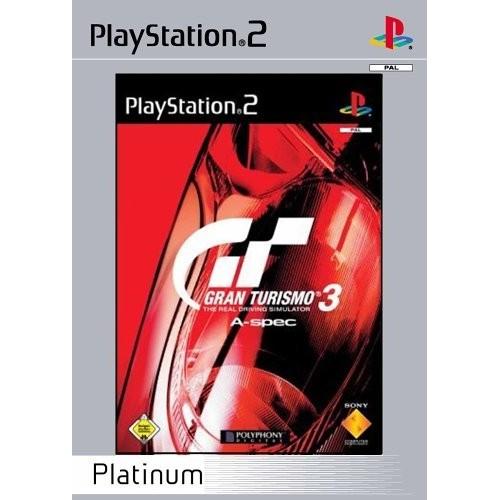Gran Turismo 3 A Spec (Platinum) – PS2 [Versione Italiana]