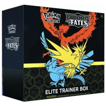 Pokemon Sun and Moon Elite Trainer Box Hidden Fates (ENG)