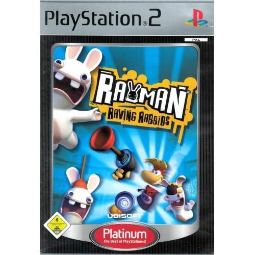 Rayman Raving Rabbits (Platinum) – PS2 [Versione Italiana]