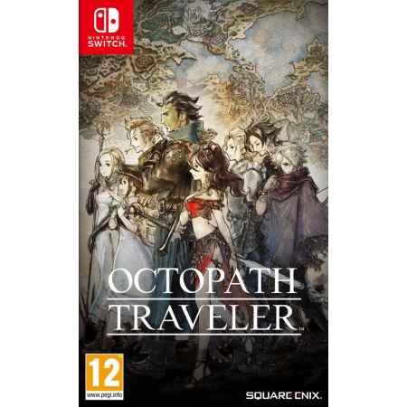 Octopath Traveler - Nintendo Switch [Versione EU Multilingue]