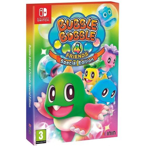 Bubble Bobble 4 Friends - Special Edition - Nintendo Switch [Versione EU]