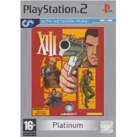 XIII (Platinum) – PS2 [Versione Inglese]