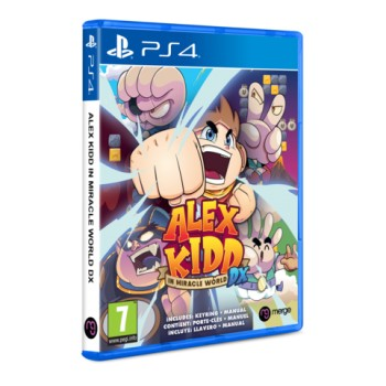 Alex Kidd in Miracle World DX - Prevendita PS4 [Versione EU Multilingue]