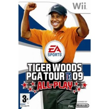 Tiger Woods PGA Tour 09 'All-Play'  - WII [Versione Inglese]