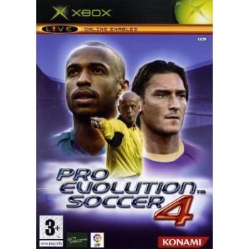 PES 4: Pro Evolution Soccer - XBOX [Versione Italiana]