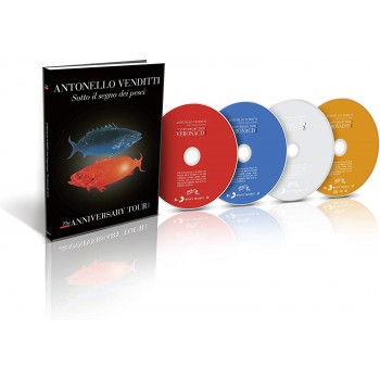 Antonello Venditti - Sotto Il Segno Dei Pesci - The Anniversary Tour - Deluxe Edition - 3CD + DVD