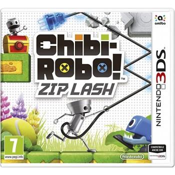 Chibi Robot: Zip Lash - Nintendo 3DS [Versione Italiana]