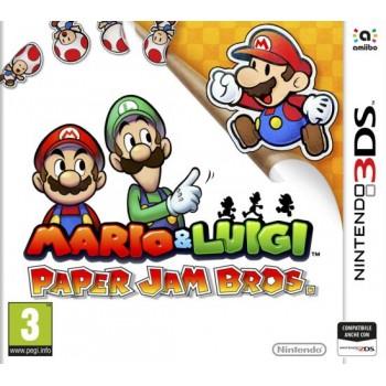 Mario & Luigi: Paper Jam Bros.  - Nintendo 3DS [Versione Italiana]