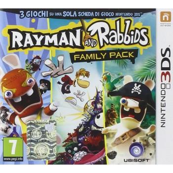 Rabbids & Rayman: Family Pack - Nintendo 3DS [Versione Italiana]
