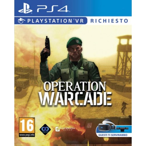 Operation Warcade VR  - PS4 [Versione Italiana]
