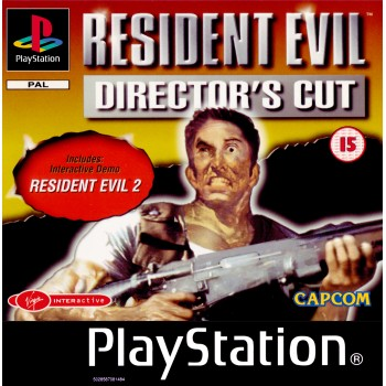 Resident Evil Director's Cut - PS1 [Versione Inglese]