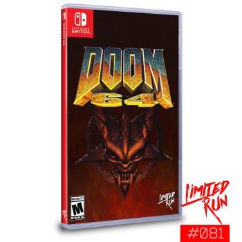 Doom 64 (Limited Run 81) (Include Carta)  - Nintendo Switch [Versione Americana]