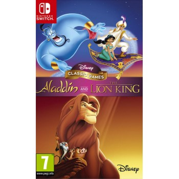 Disney Classic Games: Aladdin + Il Re Leone - Nintendo Switch [Versione Italiana]