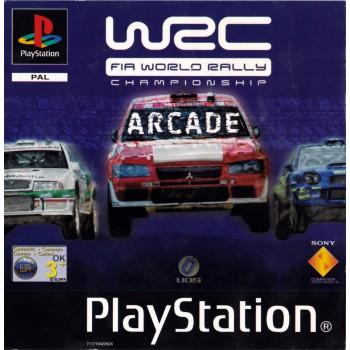 WRC - FIA World Rally Championship Arcade - PS1 [Versione Inglese]