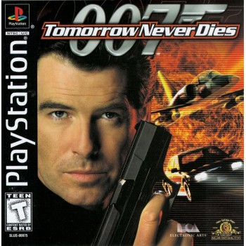 007 - Tomorrow Never Dies - PS1 [Versione Americana]