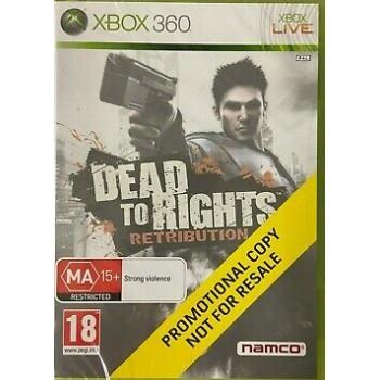 Dead to Rights: Retribution (Copia Bundle) - Xbox 360 [Versione Inglese]
