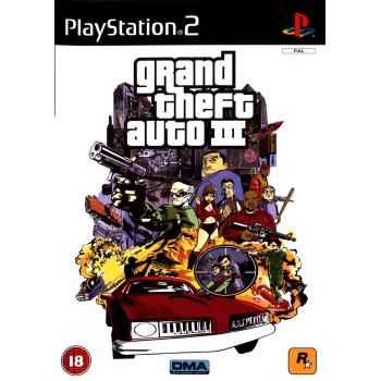 Gran Theft Auto III – PS2 [Versione Inglese]