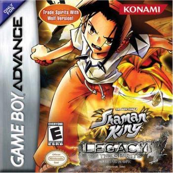 Shaman King: Legacy of the Spirits Soaring Hawk Version (Confezione Leggermente Schiacciata) - GBA [Versione Americana]