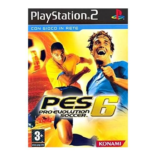 Pro Evolution Soccer 6 – PS2 [Versione Italiana]