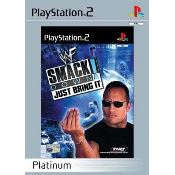 WWE Smackdown: Just Bring It (Platinum) - PS2 [Versione Inglese Multilingue]