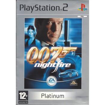 James Bond 007: Nightfire (Platinum) - PS2 [Versione Francese Multilingue]