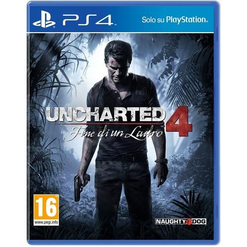 Uncharted 4: Fine di un Ladro- PS4 [Versione Italiana]