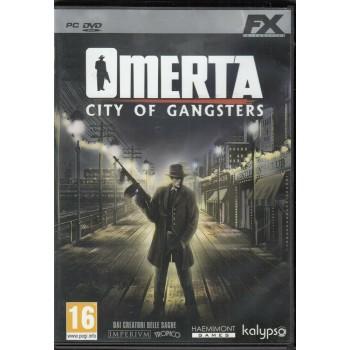 Omertà: City of Gangsters (Non Sigillato) - PC GAMES [Versione Italiana]