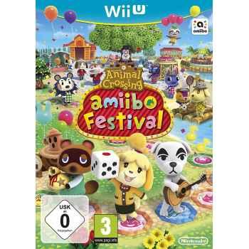 Animal Crossing: Amiibo Festival (No Amiibo) (Copia Bundle) - WIIU [Versione Europea Multilingue]