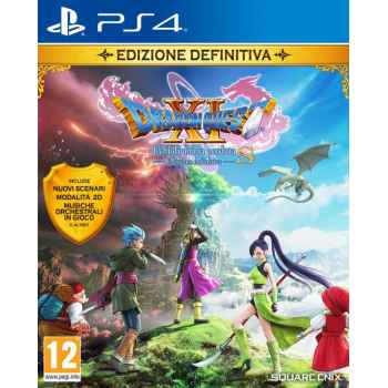 Dragon Quest XI: Echi Di Un'Era Perduta - Edizione Definitiva  - PS4 [Versione EU Multilingue]