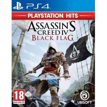 Assassin's Creed 4 Black Flag (PS Hits)  - PS4 [Versione EU Multilingue]