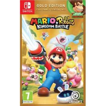 Mario + Rabbids Kingdom Battle (Gold Edition) - Nintendo Switch [Versione Italiana]