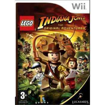 LEGO Indiana Jones The Original Adventure - WII [Versione Inglese Multilingue]