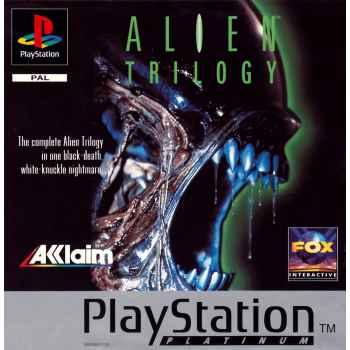 Alien Trilogy (Platinum) - PS1 [Versione Italiana]