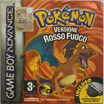 Pokemon Versione Rosso Fuoco - GBA [Versione Italiana]