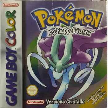 Pokemon Versione Cristallo - GBC [Versione Italiana]
