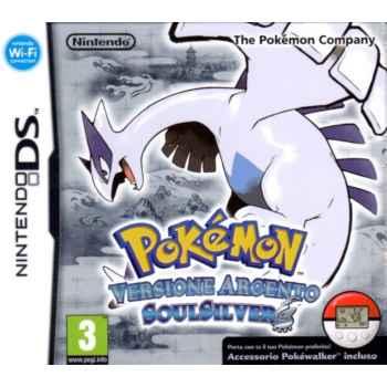 Pokemon Versione Argento Soul Silver (Edizione Con Pokewalker) - Nintendo DS [Versione Italiana]