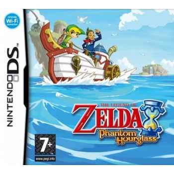 The Legend Of Zelda: Phantom Hourglass - Nintendo DS [Versione Tedesca Multilingue]